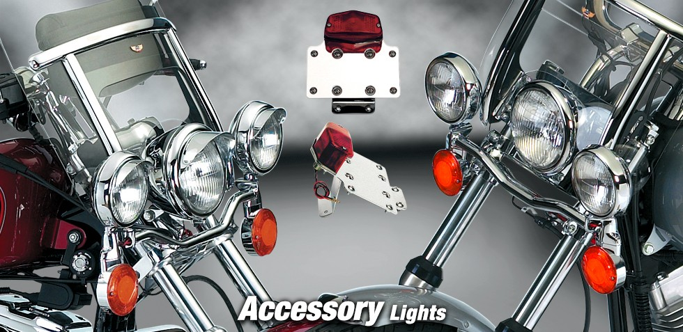 Spotlight Bars And Accessories For Harley Davidson 174