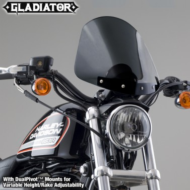 Gladiator® Height/Rake Adjustable Windshield