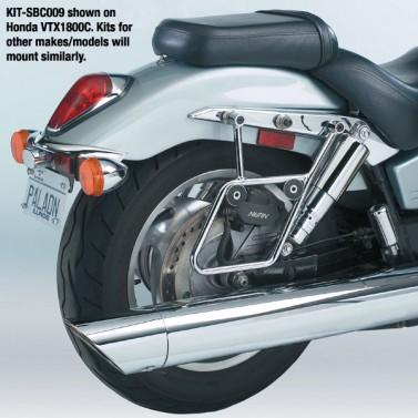 Cruiseliner™ Chrome Mount Kit for Quick Release Saddlebags