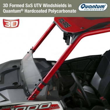 National Cycle Low 3D Windshield for UTVs