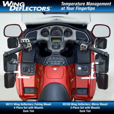 Wing Deflectors™; Fairing Mount for GL1800