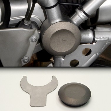 ZPlug™: Large Right Rear Frame Junction for BMW® R1200GS/R/ST