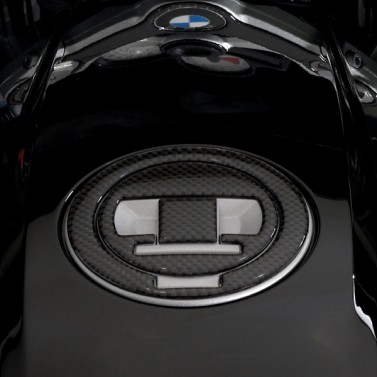 Carbon Fiber Fuel Cap Trim for BMW®