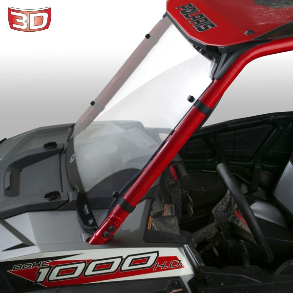 National Cycle Full 3D Windshield for UTVs