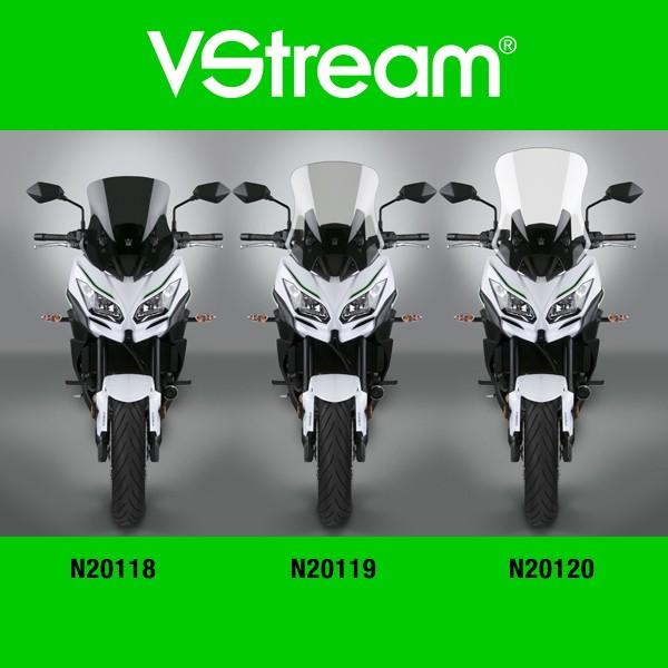 "National Cycle VStream Tinted Sport Touring Windshield 15.75/"" Kawasaki KLE650"