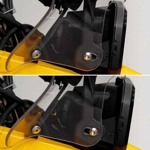 Headlight Adjustability