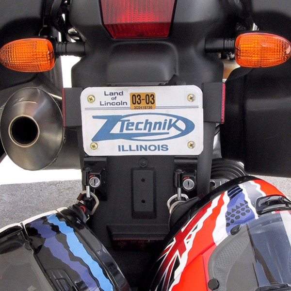 z5505a license plate bracket helmet lock for bmw®