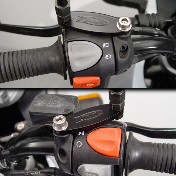 ZTechnik® Mirror Extenders for BMW® F650GS/Dakar/G650GS