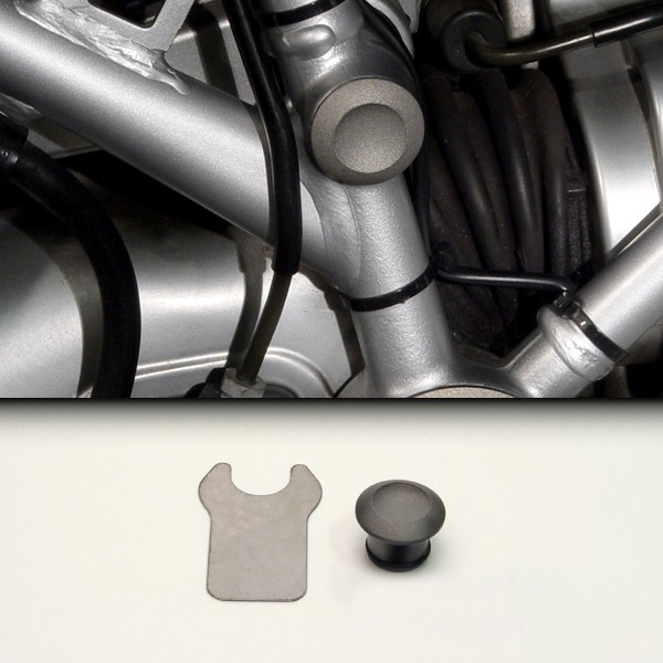 ZPlug™: Small Right Rear Frame Junction for BMW® R1200GS/Adventure