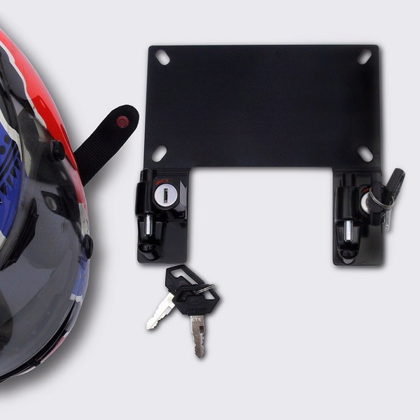 License Plate Bracket Helmet Lock for BMW®