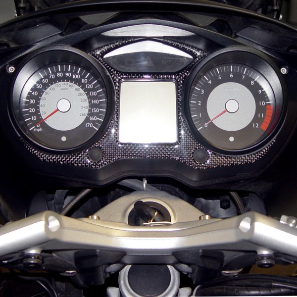 Carbon Fiber Gauge Panel Trim for BMW® K1200GT