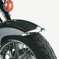 Cast Front Fender Tips; 2-Piece Set for Honda® VT1100C3 Shadow Aero