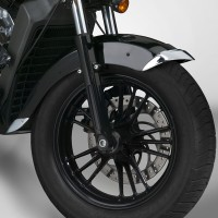 Cast Front Fender Tips; 2-Piece Set for Indian® Scout