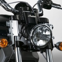 SwitchBlade® Quick Release Mount Kit, Straight Forks; Chrome
