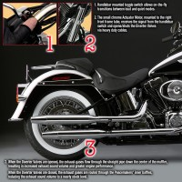 Peacemakers® Volume Control Exhaust Systems for 2006-Earlier FLST/FXST Models