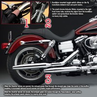 Peacemakers® Volume Control Exhaust Systems for 2006-Later FXD Dyna Series