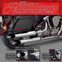 Peacemakers® Volume Control Exhaust Systems for Yamaha® XV1700/1600 Road Star