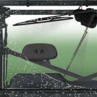Wash'n'Wipe™ SxS UTV Windshields