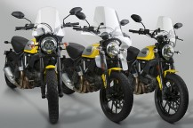 Windshield Applications for the New Ducati Scrambler