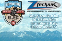 Visit ZTechnik at the 2015 BMW MOA Rally in Montana!