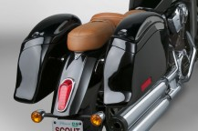 Cruiseliner™ Saddlebags Available for the Indian® Scout!