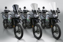 New VStream® Windscreens for the Kawasaki® KLR650