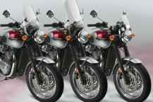 New Windshields for the Classic Triumph® Bonneville T120