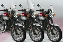New Windshields for the Classic Triumph® Bonneville T120