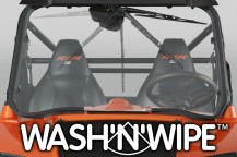 National Cycle Wash'n'Wipe™ Windshields for Popular SxS UTVs