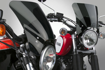 National Cycle's Introduces the NEW Mohawk™ Windshield!
