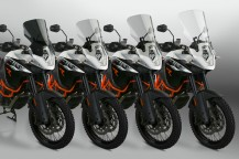 New VStream® Windscreens for KTM® Adventure Models