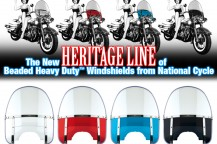 Red and Blue Beaded Heavy Duty™ Windshields Return!