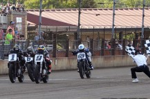 Mees Snags Springfield Mile II, Sixth Indian Podium Sweep