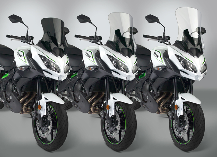New VStream® Windscreens for 2017-18 Kawasaki® KLE650/1000