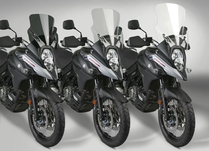 VStream® Windscreens Released for 2017-18 Suzuki DL650 V-Strom