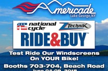 Visit National Cycle/ZTechnik at Americade 2018!