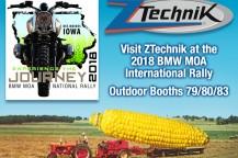 Visit ZTechnik at the 2018 BMWMOA International Rally!