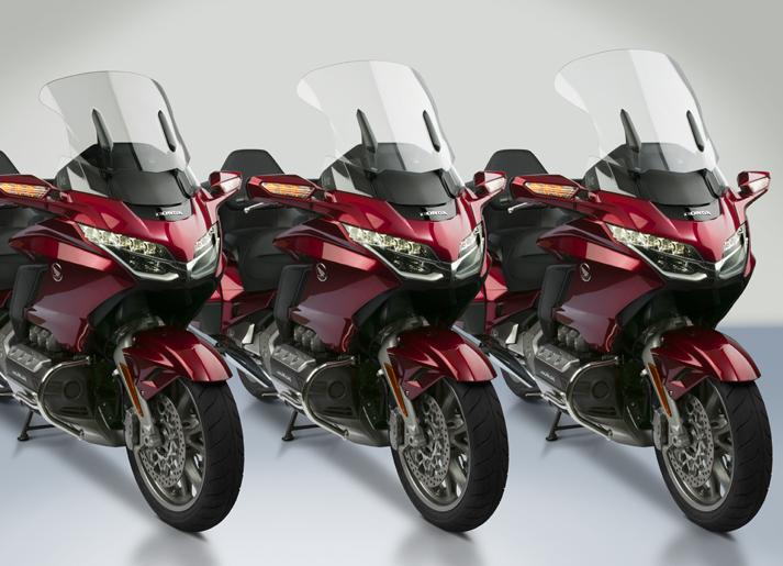 New VStream® Windscreens for 2018 Honda® Gold Wing