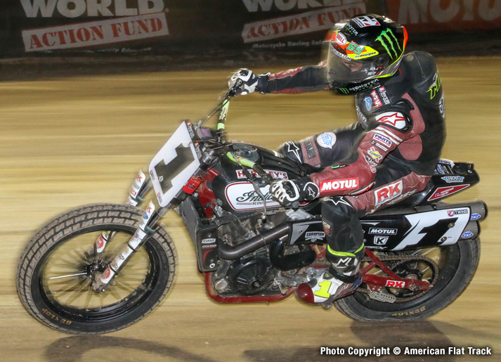 Mees Hits Grand Slam at New York Short Track