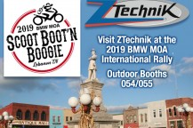 Visit ZTechnik at the 2019 BMWMOA Rally!