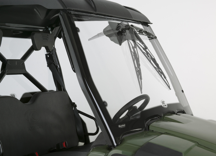 New SxS 3D Windshields for the KYMCO® UXV450/700!