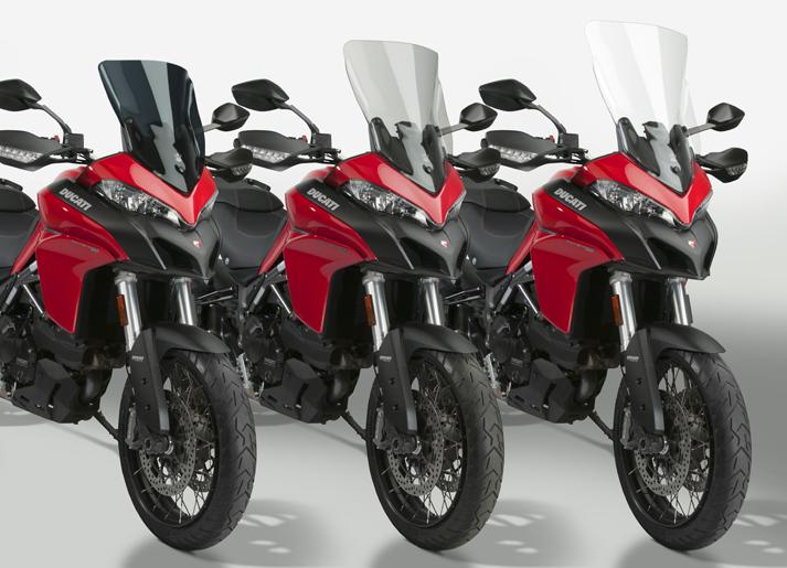 New VStream® Windscreens for the 2015-19 Ducati® Multistrada