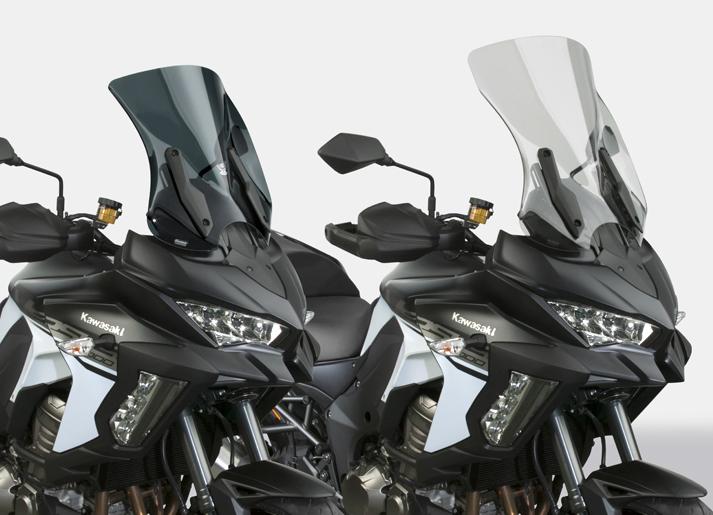 New VStream® Windscreens for 2019-20 Kawasaki® Versys 1000