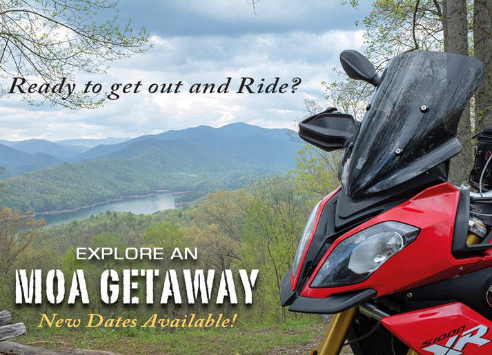 Ready To Get Out and Ride? MOA Getaways for 2020