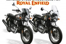 Windshields for the New Royal Enfield 650 Twins