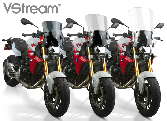 VStream+® Windscreens for the 2020 BMW® F900R!