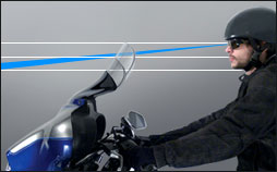 motorcycle windshields from the windshield experts   national cycle