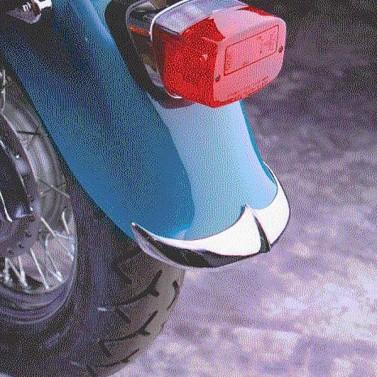 Cast Rear Fender Tip for Kawasaki® VN800B Vulcan