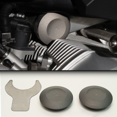 ZPlug™: Left/Right Telelever Pivots; Pair for BMW® R1200GS/R/RT/S/ST