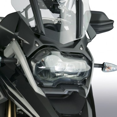 ZTechnik® Polycarbonate LED Headlight Guards for BMW® R1200/1250 GS/GSA
